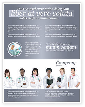Medical: Medical Interns Flyer Template #03390