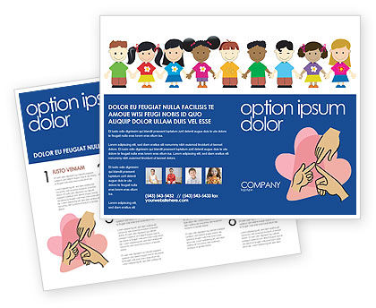 Education & Training: Modello Brochure - Infanzia #03391