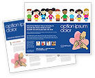 Education & Training: Childhood Brochure Template #03391