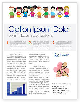 Education & Training: Childhood Newsletter Template #03391