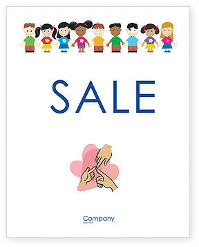 Childhood Sale Poster Template