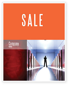 Business Concepts: Perspective Sale Poster Template #03395