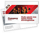 Sports: Strategy Game Postcard Template #03405