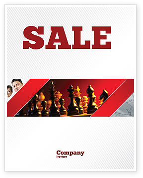 Sports: Strategy Game Sale Poster Template #03405
