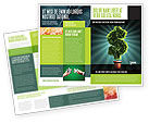 Financial/Accounting: Green Dollar Breeding Brochure Template #03414