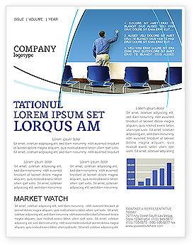 Education & Training: Public Presentation Newsletter Template #03421