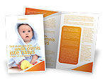 People: Little Baby Brochure Template #03426