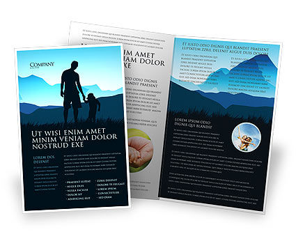 Religious/Spiritual: Starting Point Brochure Template #03429
