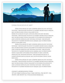 Starting Point Letterhead Template, 03429, Religious/Spiritual — PoweredTemplate.com