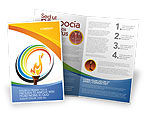 Sports: Olympic Fire Brochure Template #03430