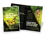 Agriculture and Animals: Butterfly Effect Brochure Template #03432