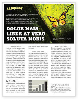 Agriculture and Animals: Butterfly Effect Newsletter Template #03432