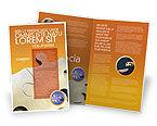 Business Concepts: Puzzle Parts Brochure Template #03435