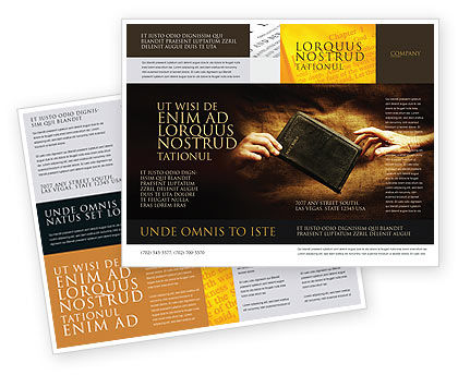Christianity Brochure Template