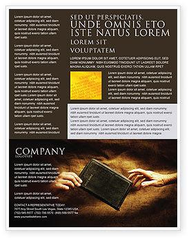 Christianity Flyer Template, 03436, Religious/Spiritual — PoweredTemplate.com