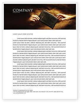 Religious/Spiritual: Plantilla de membrete - cristianismo #03436
