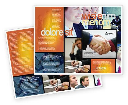Business: 팜플릿 템플릿 - 효과적인 고객 관계 관리 #03437