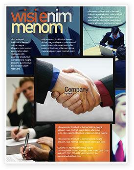 Business: Effective Customer Relationship Management Flyer Template #03437