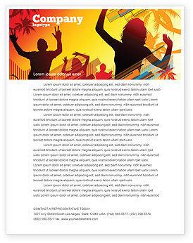 Holiday/Special Occasion: Templat Kop Surat Orang Partai #03438