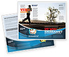 Sports: Morning Jogging Brochure Template #03440