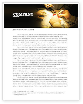 Medical: Surgery In Progress Letterhead Template #03443