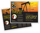 Utilities/Industrial: Oil Producer Brochure Template #03444