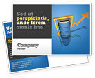 Financial/Accounting: Petroleum Prices Postcard Template #03447