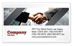 Business: Concord Business Card Template #03449