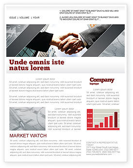 Business: Concord Newsletter Template #03449