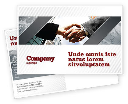 Business: Concord Postcard Template #03449