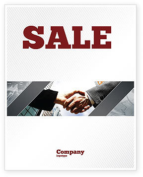 Business: Concord Sale Poster Template #03449