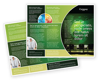 Global: Conference Hall Brochure Template #03451