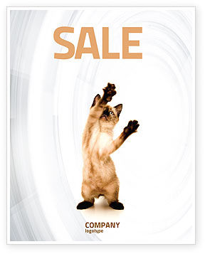 Agriculture and Animals: Modelo de Cartaz - gatinho #03459