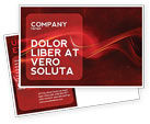 Abstract/Textures: Red Texture Postcard Template #03461