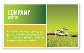 One Step Business Card Template, 03465, Business Concepts — PoweredTemplate.com