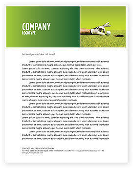 Business Concepts: One Step Letterhead Template #03465