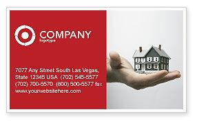 Habitation Business Card Template, 03467, Construction — PoweredTemplate.com