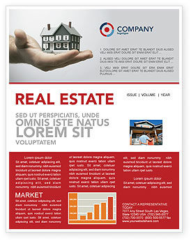 Construction: Habitation Newsletter Template #03467