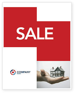 Habitation Sale Poster Template, 03467, Construction — PoweredTemplate.com