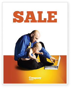 Education & Training: Computer Literacy Sale Poster Template #03473