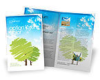 Nature & Environment: Greenery Brochure Template #03479
