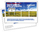 Business Concepts: Successful Way Postcard Template #03487