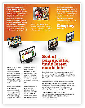 Education Programs Flyer Template, 03489, Education & Training — PoweredTemplate.com
