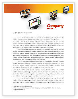 Education Programs Letterhead Template, 03489, Education & Training — PoweredTemplate.com