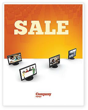 Education Programs Sale Poster Template, 03489, Education & Training — PoweredTemplate.com