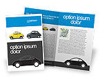 Cars/Transportation: Minicars Brochure Template #03491