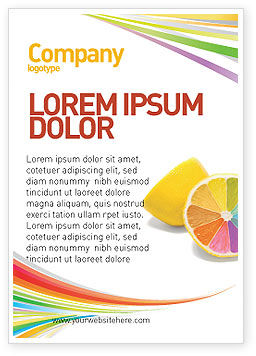 Business Concepts: Color Diversity Ad Template #03498