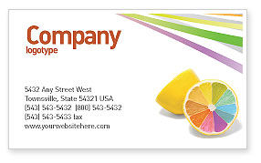 Color Diversity Business Card Template