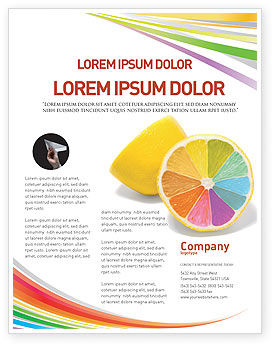 Business Concepts: Color Diversity Flyer Template #03498