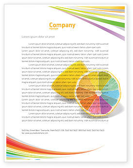 Business Concepts: Color Diversity Letterhead Template #03498